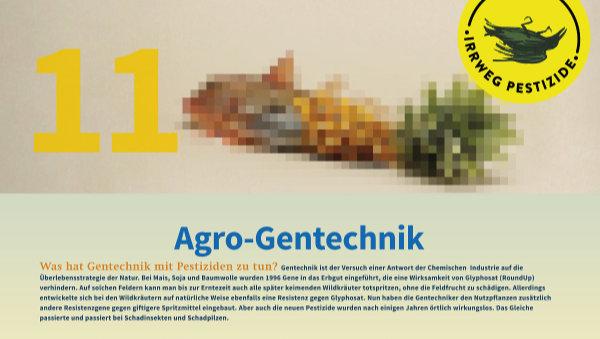 Irrweg Pestizide Agro Gentechnik