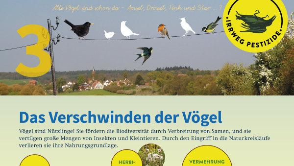 Irrweg Pestizide Das Verschwinden der Vögel