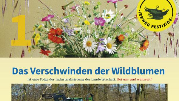 Irrweg Pestizide Das Verschwinden der Wildblumen